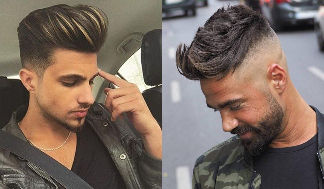 Tendências de cortes de cabelo para homem