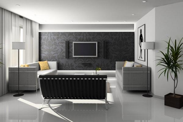 Como manter a sua casa frescanos dias de maior calor- Tenha as paredes de cores claras