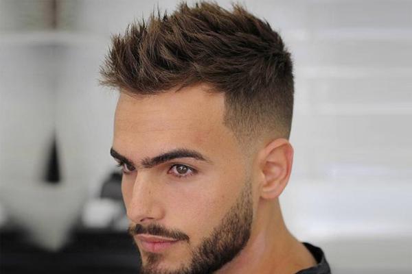 Tendências de cortes de cabelo para homem 2018- Textured Spiky
