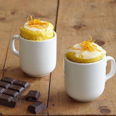 Receita de bolo delicioso de cacau e laranja na caneca - Delicie-se!