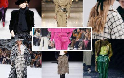 Tudo sobre as tendências da moda Outono/Inverno 2019